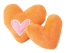 Rogz Catnip Hearts Orange 2 stuks