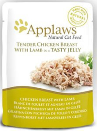 Applaws Cat Pouch Chicken/Lamb in jelly - 70 gr. (16 verp.)