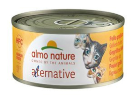 Almo Nature Alternative Gegrilde Kip - 24x70 gr.