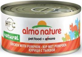 Almo Nature Kip met Pompoen - 70 gr. (24 verp.)