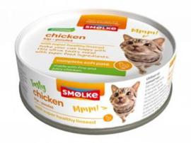 Smølke Kat - Soft Paté - Kip 24 x 80 gr
