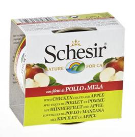 Schesir Cat Fruit Chicken & Apple - 14x75 gr.