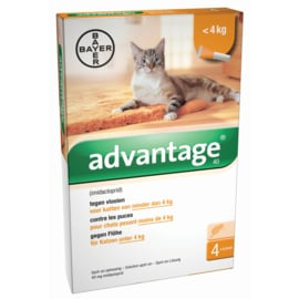 ADVANTAGE - 40 ADULT TOT 4 KG