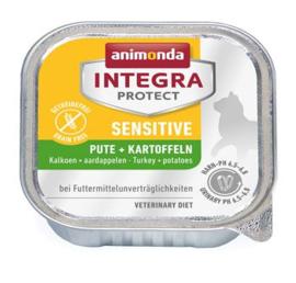 Integra Cat Sensitive Turkey+Potatoes 16 x 100 gr