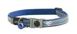 ROGZ NIGHTCAT BLUE FLORAL - 8MM - 16,5-23 CM