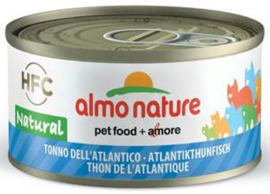 Almo Nature Atlantische Tonijn - 70 gr. (24 verp.)