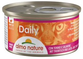 Almo Nature  Daily Menu Tonijn/Zalm 24 x 85 gr