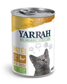 Yarrah Kat Blik Paté Kip - 400 gr. (12 verp.)