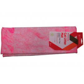 CAT LITTER MAT ROZE