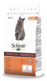 Schesir Cat Dry Sterilized & Overweight 10 KG
