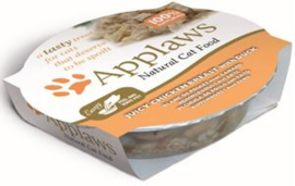 Applaws Cat Pots Juicy Chicken & Duck 10 x 60 gr