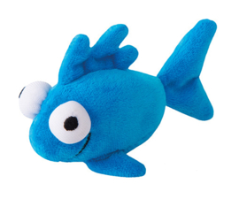 Rogz Catnip Plush Fish Blue