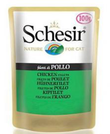Schesir Cat Chicken Fillets - 20x100 gr.