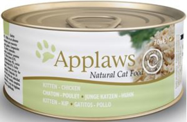 Applaws blik cat Kitten Chicken - 70 gr. (24 verp.)