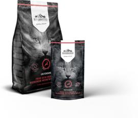 Riverwood kat Outdoor, Eend & Rendier met Everzwijn 2kg  Graan- & Glutenvrij