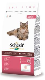 Schesir Cat Dry Sterilized Ham 1.5 kg