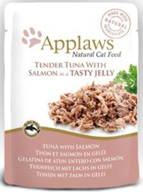 Applaws Cat Pouch Tuna/Salmon in jelly - 70 gr. (16 verp.)