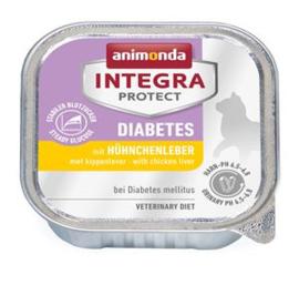Integra Cat Diabetes Chickenliver  16 x 100 gr