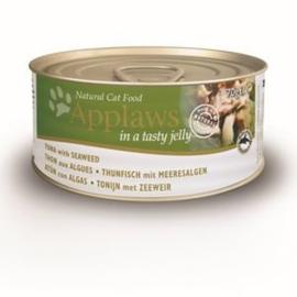 Applaws Blik Cat Jelly Tuna Seaweed - 70 gr. (24 verp.)
