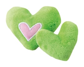 Rogz Catnip Hearts Lime 2 stuks
