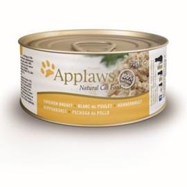 Applaws Blik Cat Chicken Breast 24 x 70 gr