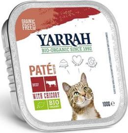 Yarrah Kat Alu Paté Kip/Rund/Chichorei - 100 gr. (16 verp.)