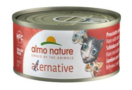 Almo Nature Alternative Ham met Kalkoen 24 x 70 gr