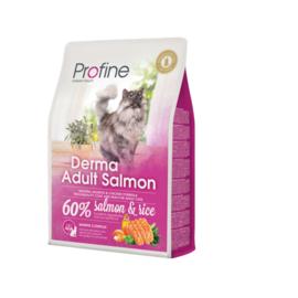 Profine Derma Adult Salmon & Rice 2 kg Graan-arm & tarweglutenvrij