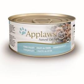 Applaws Blik Cat Tuna Fillet 24 x 70 gr
