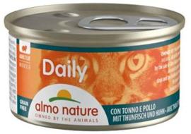 Almo Nature Daily Menu Tonijn/Kip 24 x 85 gr