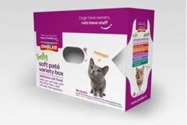 Smølke Kat - Soft Paté - Variatiebox 16x80 gr