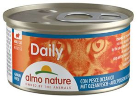 Almo Nature Daily Menu Oceaanvis 	24 x 85 gr