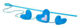 Rogz Catnip Hearts Magic Stick Blue
