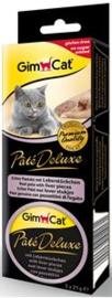 GimCat Paté Deluxe met lever stukjes 3x21 gr