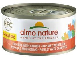 Almo Nature Kip met Wortels - Graanvrij - 24x70 gr.