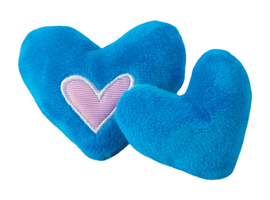 Rogz Catnip Hearts Blue 2 stuks