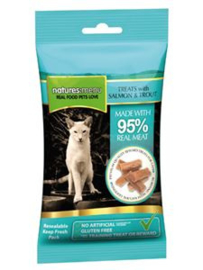 Natures Menu Cat Treats Salmon & Forel - 60 gr.