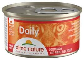 Almo Nature Daily Menu Rund 24 x 85 gr