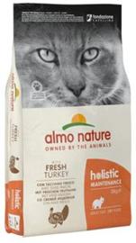 Almo Nature Holistic Kat Kalkoen 12 kg