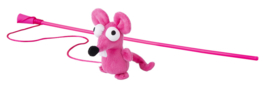 Rogz Catnip Mouse Magic Stick Pink