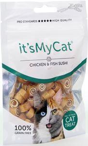 it's My Cat Chicken & Fish Sushi 50 gr