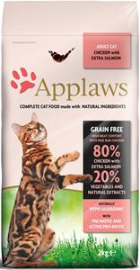 Applaws Chicken & Salmon Adult Brokjes - 7,5 kg.