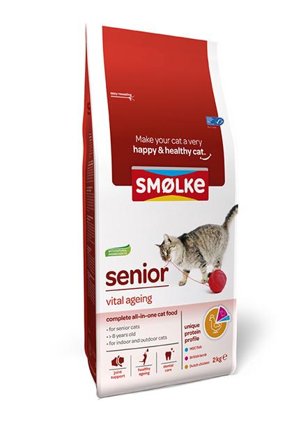 Smolke Kat Senior 2 kg