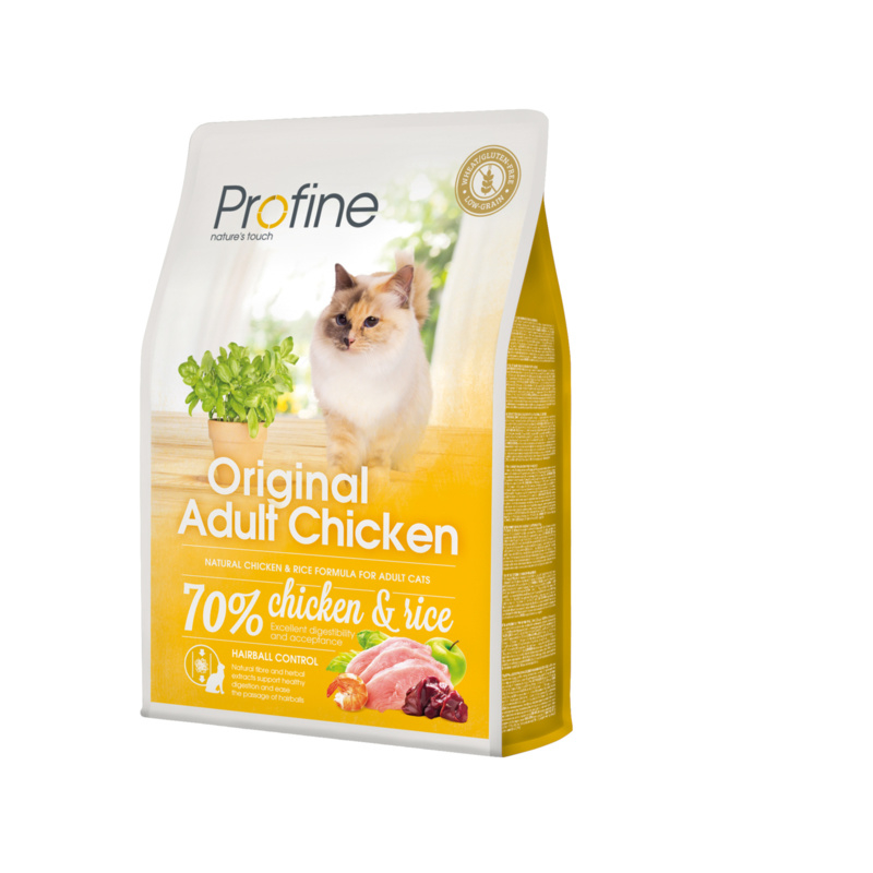 Profine Original Cat Adult Chicken & Rice 2 kg Graan-arm & tarweglutenvrij
