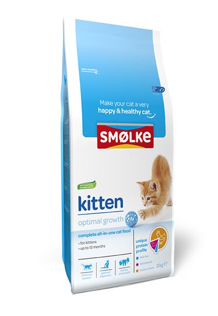 Smolke Kat Kitten 2 kg
