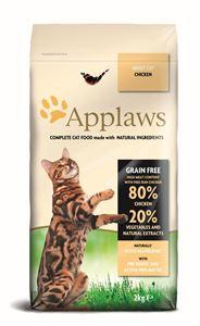 Applaws Chicken adult Cat Brokjes - 7,5 kg.