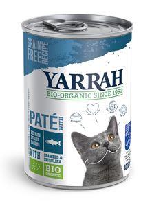 Yarrah Kat Blik Paté Vis - 400 gr. (12 verp.)