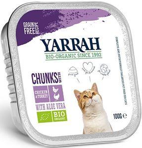 Yarrah Kat Alu Brokjes Kip/Kalkoen - 100 gr. (16 verp.)