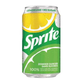 Sprite No Sugar 33cl blik