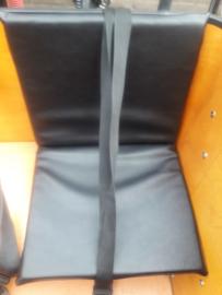 Comfort kussen half zwart leer (stuurzijde) Vogue Carry 3